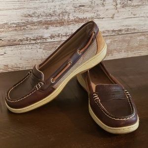Sperry size 6.5 womens nearly new loafers